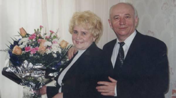 Сергей Федорович на снимке — с женой Зинаидой Ильиничной.