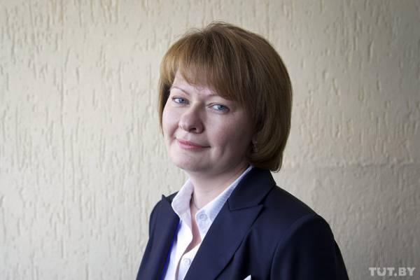 Председатель Совета молодых ученых БелМАПО Ольга Светлицкая