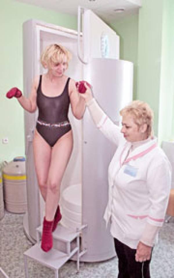Криотерапия в Минске. Лечение ревматоидного артрита, подагры, остеопороза, остеохондроза позвоночника, экземы, атопического дерматита, псориаза, угревой сыпи, бронхиальной астмы, снижения веса, борьбы с целлюлитом