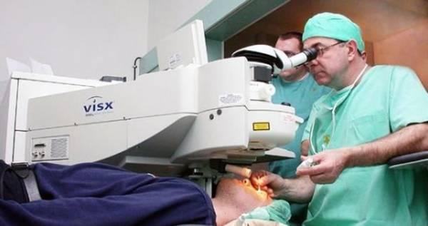 В 10-й минской больнице исправляют зрение с помощью лазерной методики, одобренной NASA