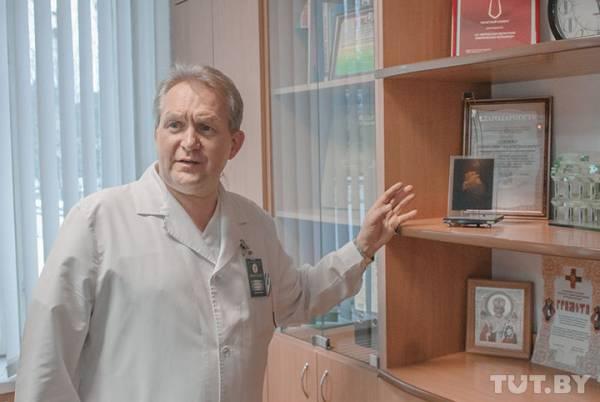 По подозрению во взятках задержан главврач Витебской областной клинической больницы Анатолий Оладько