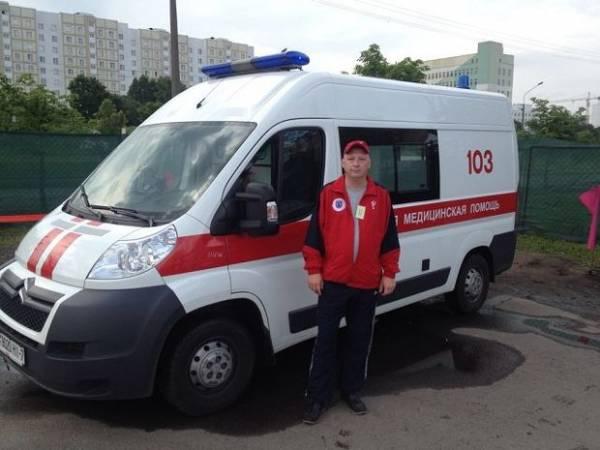 В ДТП на минской улице Гая погиб водитель скорой помощи Андрей Низов