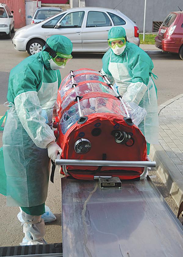 Минская городская инфекционная больница станет госпиталем для больных Эболой, если лихорадка попадет на территорию Беларуси