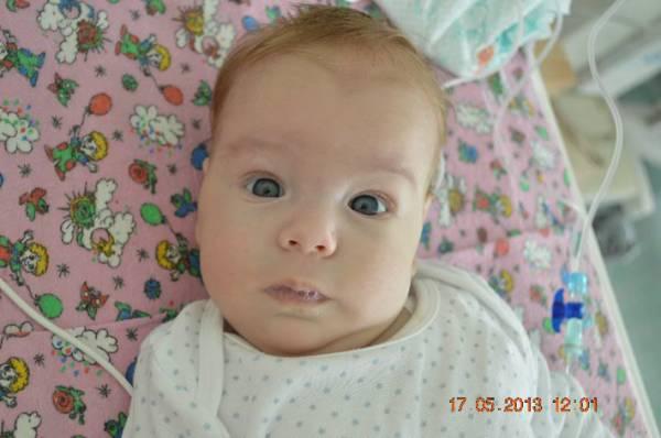 В реанимации Витебской детской областной клинической больницы умер трехмесячный мальчик Вячеслав Когут