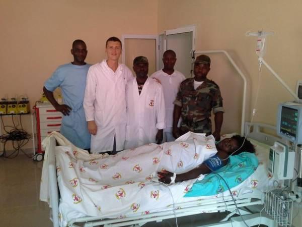 О своей работе в Анголе немного рассказал 32-летний Павел