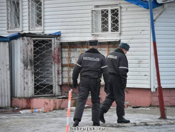 Онкологический больной подорвал себя гранатой возле продуктового магазина в Бобруйске
