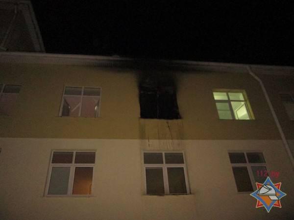 Чтобы сбежать из больницы скорой помощи в Витебске, пациент устроил поджог