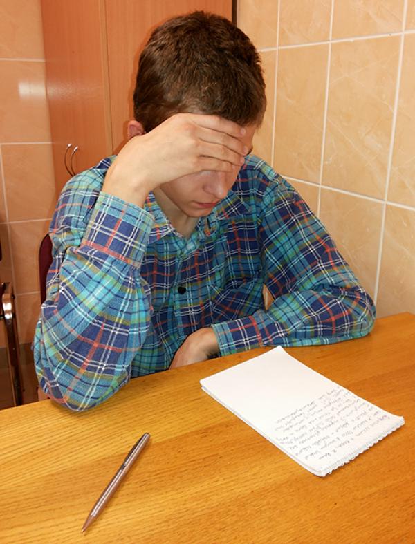 Подсео на спайс. Родители отказались от 17-летнего минчанина Леонида! Фото
