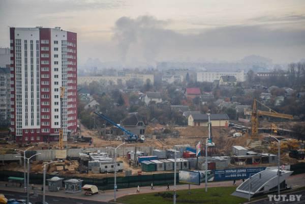 В 2015 году уровень загрязнения воздуха в городах Беларуси вырос в 1,5 – 2 раза