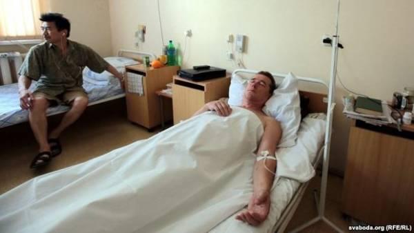 Претендент в Президенты Беларуси Виктор Терещенко лежит в 3-й больнице Минска под капельницей
