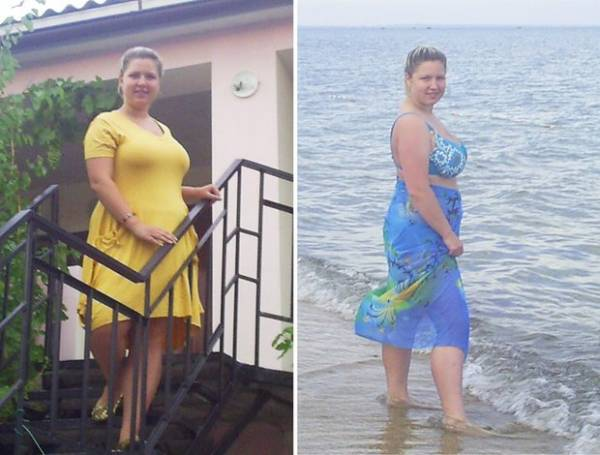 25-летняя минчанка Виктория Климович похудела на 40 килограммов
