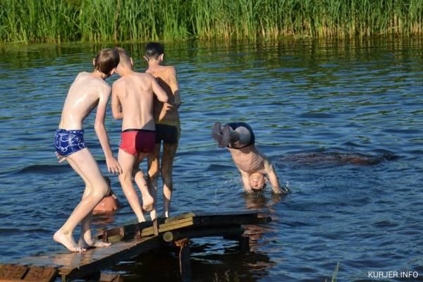 Плавать рядом с утками опасно для здоровья