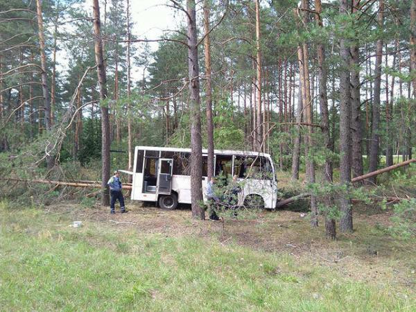 Водитель автобуса на Минск умер за рулем
