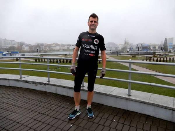 Во время марафона умер известный белорус в 43 года за 5 метров до финиша