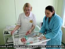 Богатырь весом 6 кг 190 г и ростом 59 см родился в Витебске