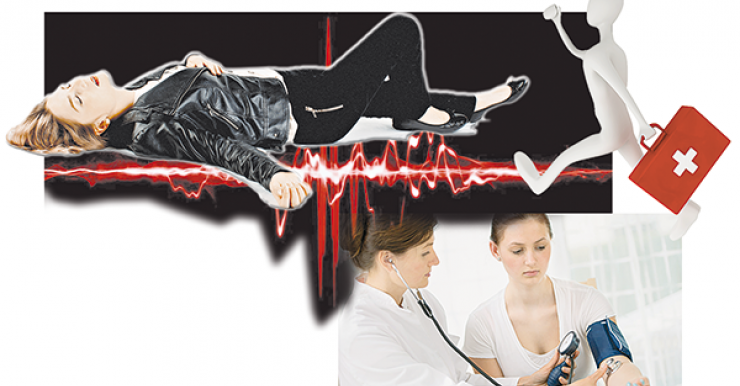 Уровень смертности при обмороках сердечного происхождения достигает 10 %