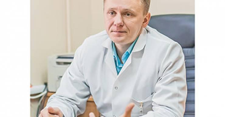 заведующій психоневрологическим диспансером, главный внештатный врач-психиатр-нарколог Александр Петрович БОЖКО