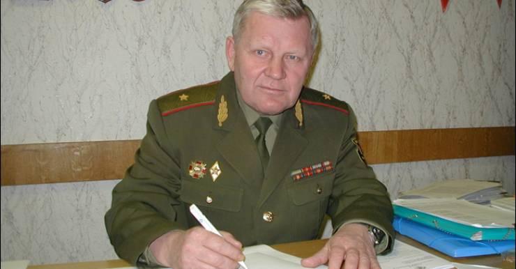 Или тромб, или инфаркт. В Минске умер на 68-м году жизни генерал Валерий Фролов