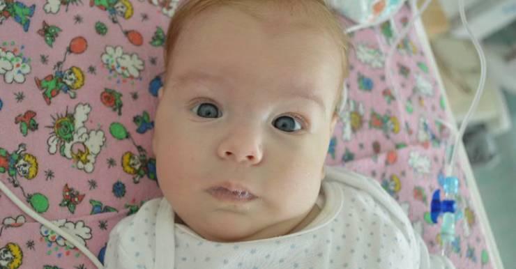 В реанимации Витебской детской областной клинической больницы умер трехмесячный мальчик