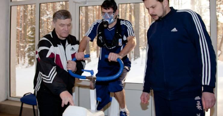 БАТЭ прошел тестирование. Целью визита гомельско делегации в Борисов было функциональное тестирование игроков команды.