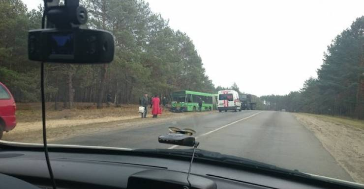 В Мозырском районе водитель автобуса умер от остановки сердца за рулем