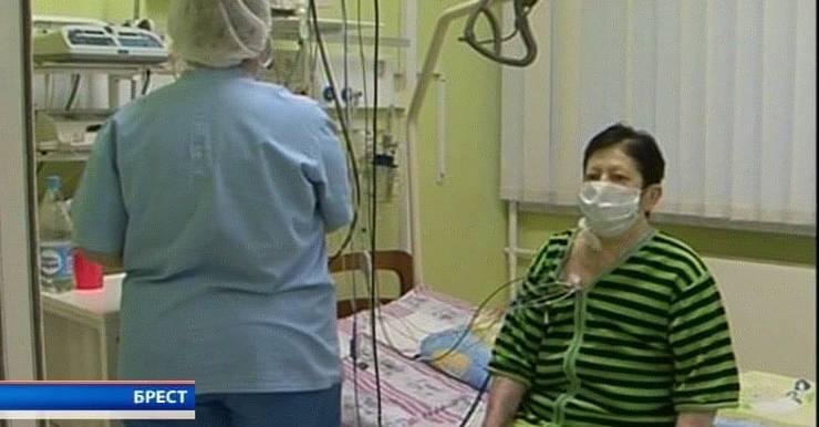 Любовь Тейге, пациентка Брестской областной больницы